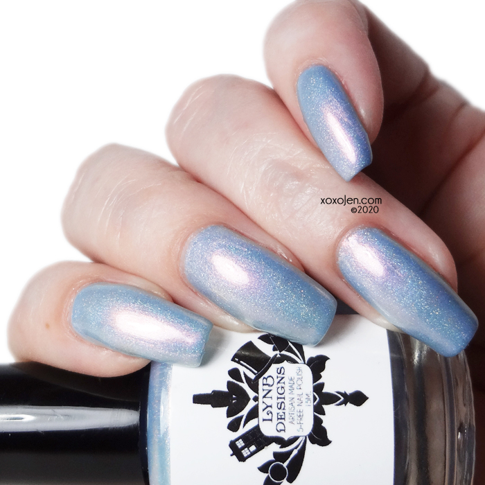 xoxoJen's swatch of LynB Designs Winter's Dusk