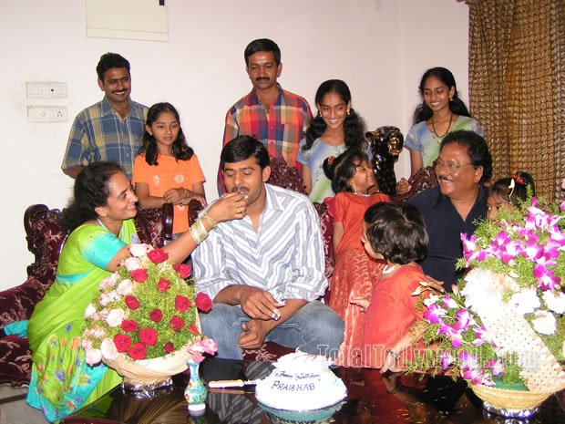 Prabhas, Prabhas Family picture, Tollywood Actors
