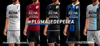 Kits Queretaro F.C. 2016-2017 Pes 2013 By BK-201