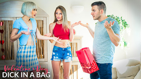 [MyFamilyPies] Jessie Saint, Kyler Quinn (Valentines Day Dick In A Bag / 02.08.2021)