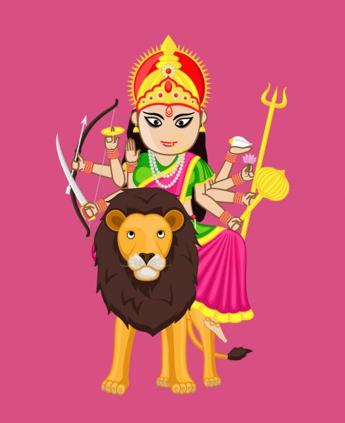 Maa Durga Image Photo Wallpaper for Whatsapp Status Profile Pictures Free Download