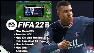 Download FIFA 14 MOD FIFA 22 Android New Commentary Update Transfer Fix Manager & Tournament Mode