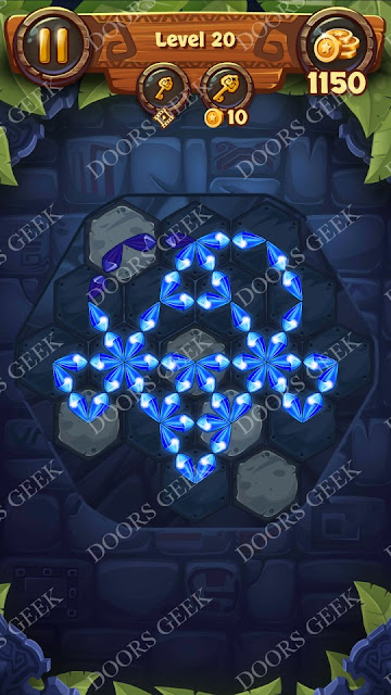 Gems & Magic [Emerald] Level 20 Solution, Walkthrough, Cheats