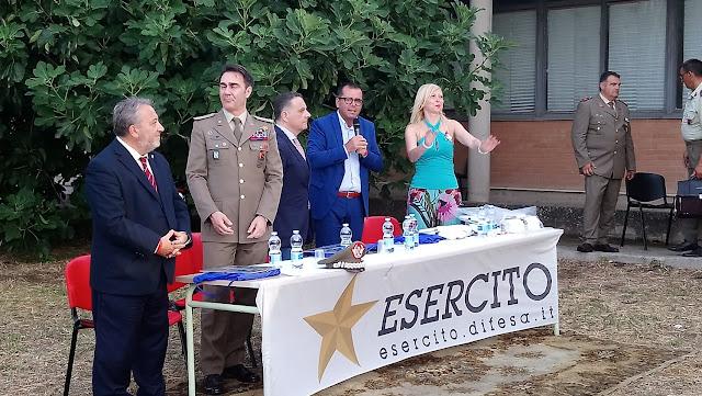 """San Severo (FG), grande il successo per l'evento """"stoccata vincente a San Severo tra """"il sorriso"""" e l'Esercito"""""""
