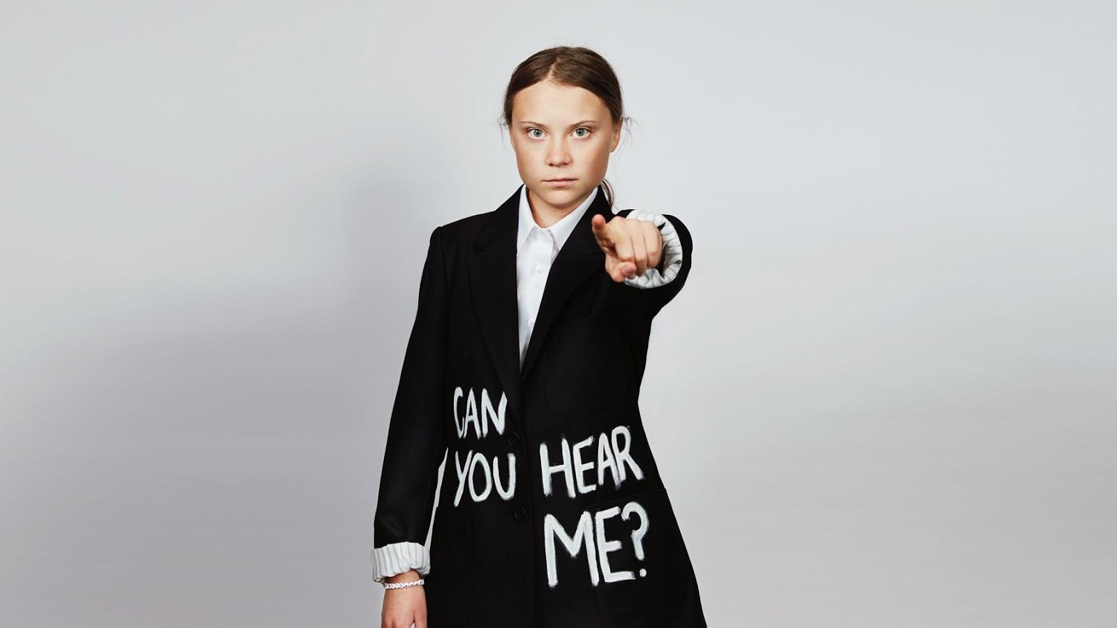 Navegando Por Aí: Greta Thunberg perturba o patriarcado