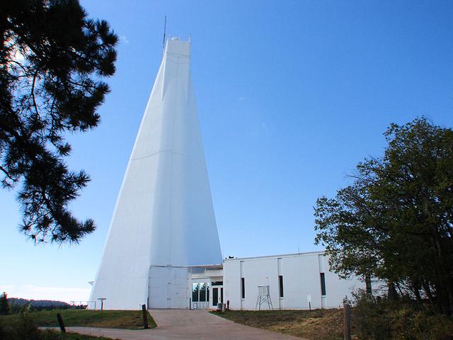 Sunspot National Solar Observatory.