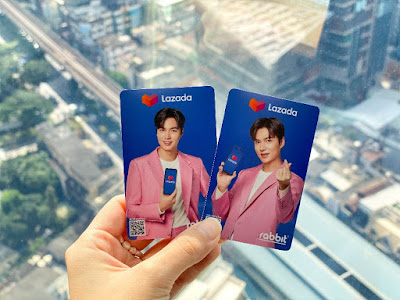 Lazada มัดใจแฟนๆเกาหลี เปิดขายบัตรแรบบิท รุ่น ลิมิเต็ด อิดิชั่น ลาย อีมินโฮ เฉพาะที่ลาซาด้าเท่านั้น  ปลุกกระแสช้อปออนไลน์โค้งสุดท้ายปลายปี กับ Lazada 11.11 Biggest One-Day Sale