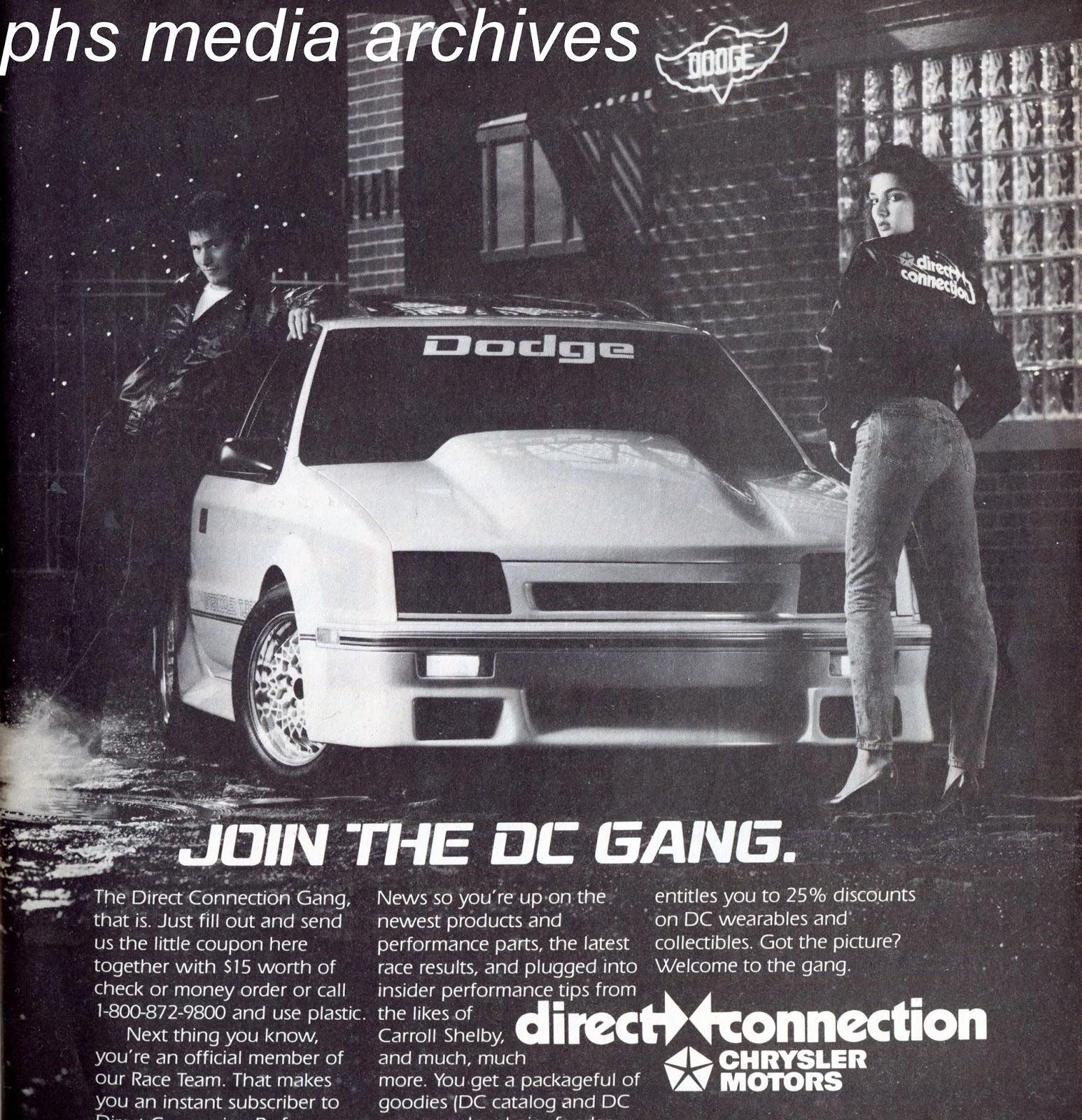 Retro Flashback Feature Those Direct Connection Babes 1970 Plymouth Duster Ignition Wiring Diagram Some Of The Ads Do Not Miss Which Can Confuse Collectors Years Later This Ad From 1987 Has A Fetching Dark