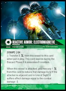 Equip type: Reactive Armor Electromagnetic