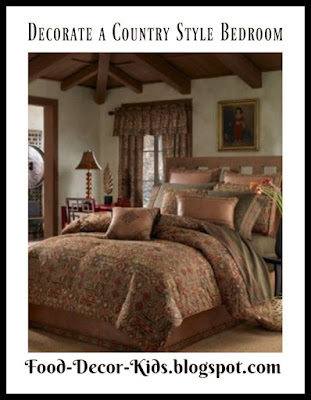 How to Decorate a Country Style Bedroom