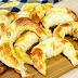 Como hacer medialunas de jamón y queso con tapas de pascualinas en 5 minutos