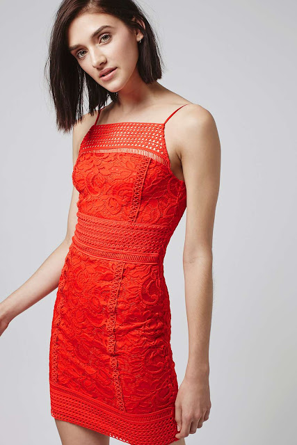 red crochet slip dress, red crochet dress,