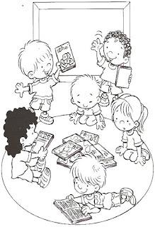 Brincadeiras crianças-figurinhas