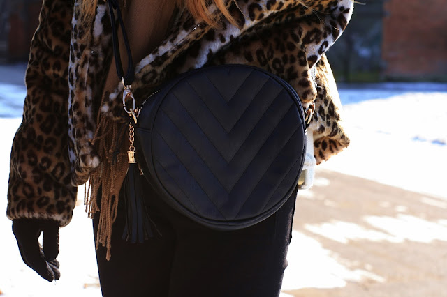 Leopard fur coat | Futerko w panterkę