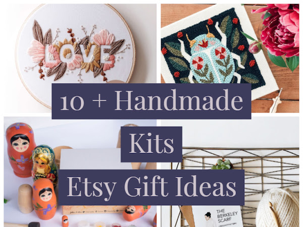 Fun Craft and Sewing Kits to Buy as Gifts an Etsy Gift Guide