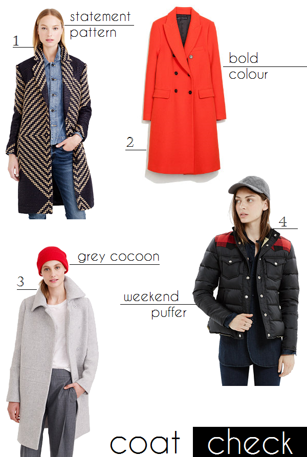 Winter coats and jackets