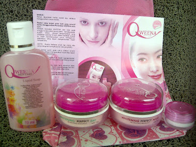 CREAM QWEENA PAKET NORMAL ORIGINAL TERBARU