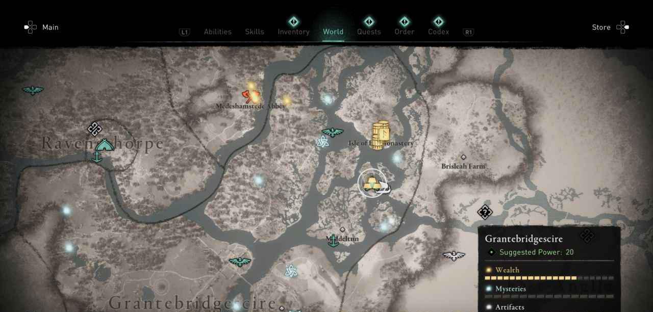Ingot 32 Map