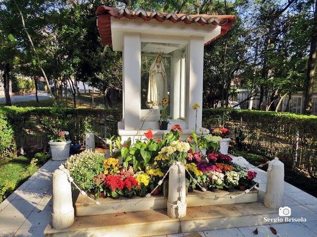 Vista ampla do Monumento Nossa Senhora de Fátima - Santo Amaro - São Paulo