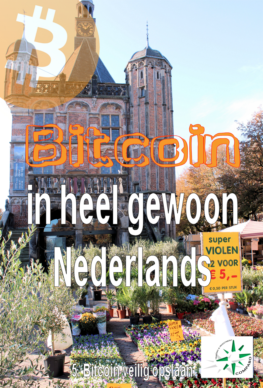 Ga naar deel 5, Bitcoin veilig opslaan