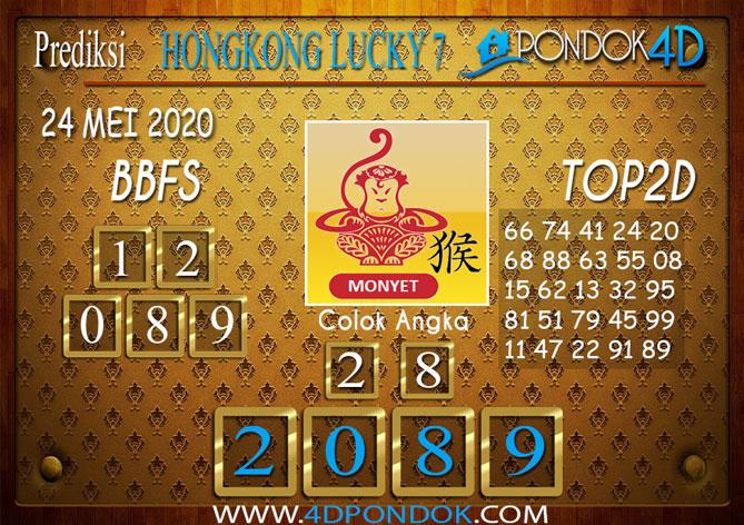 Prediksi Togel HONGKONG LUCKY 7 PONDOK4D 24 MEI 2020