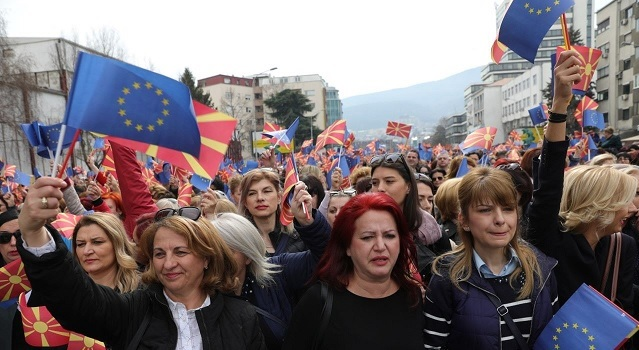 Women in North Macedonia seek economic, political and social equality