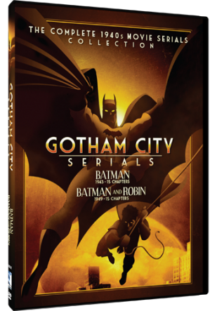 DVD Review - Gotham City Serials