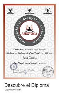 diploma yoga aéreo, certificación yoga aéreo, acreditación yoga aéreo, formación yoga aéreo, yoga aéreo teacher training, nuevas tendencias, cursos yoga aéreo, aeroyoga, diploma aero yoga