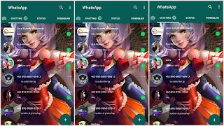 Cara Mengubah Homescreen Whatsapp Menjadi Gambar Mobile Legends