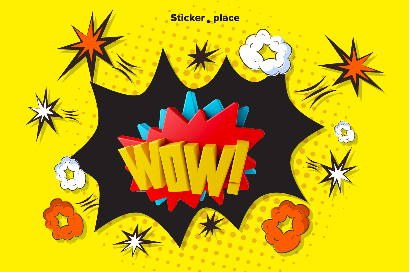 Wow Sticker pack de Eduardo Fajardo