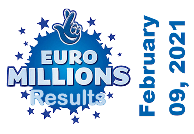 EuroMillions Results for Tuesday, February 09, 2021