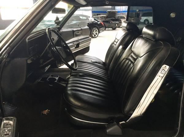 Interior 1969 Buick Electra