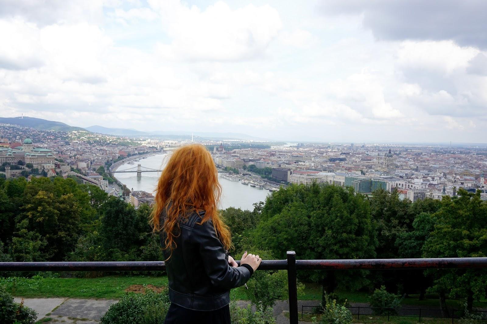 Girl at Budapest Citadella