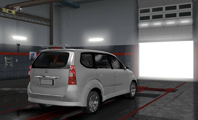 Mod Mobil Toyota Avanza Free By Rindray ETS2