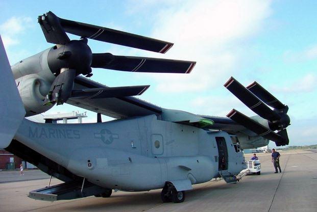 Bell Boeing V-22 Osprey engine