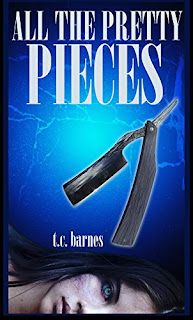All The Pretty Pieces - a psychological thriller book promotion by T.C. Barnes