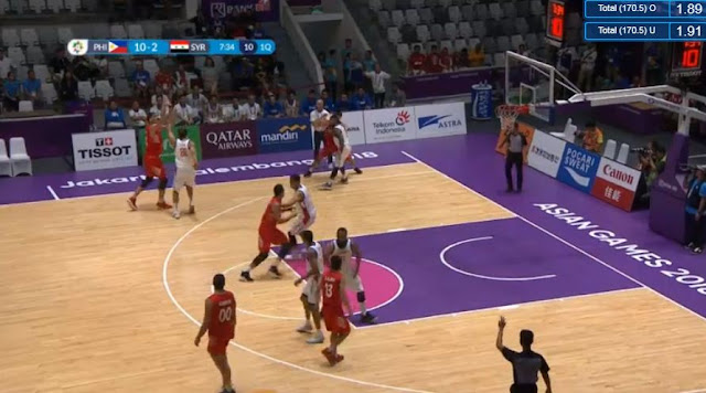 Video Playlist: Gilas Pilipinas vs Syria game replay August 31, 2018 ASIAD