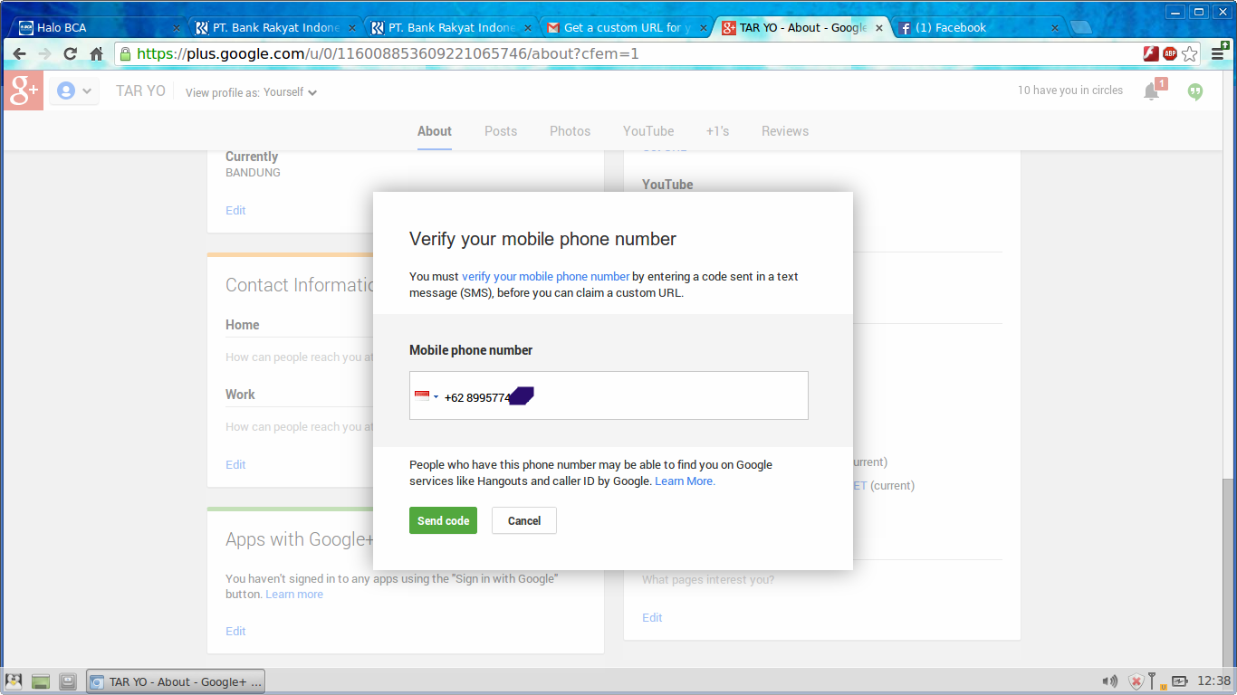 how to find google plus id