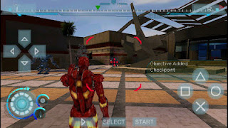 Game Iron Man 2 PPSSPP ISO