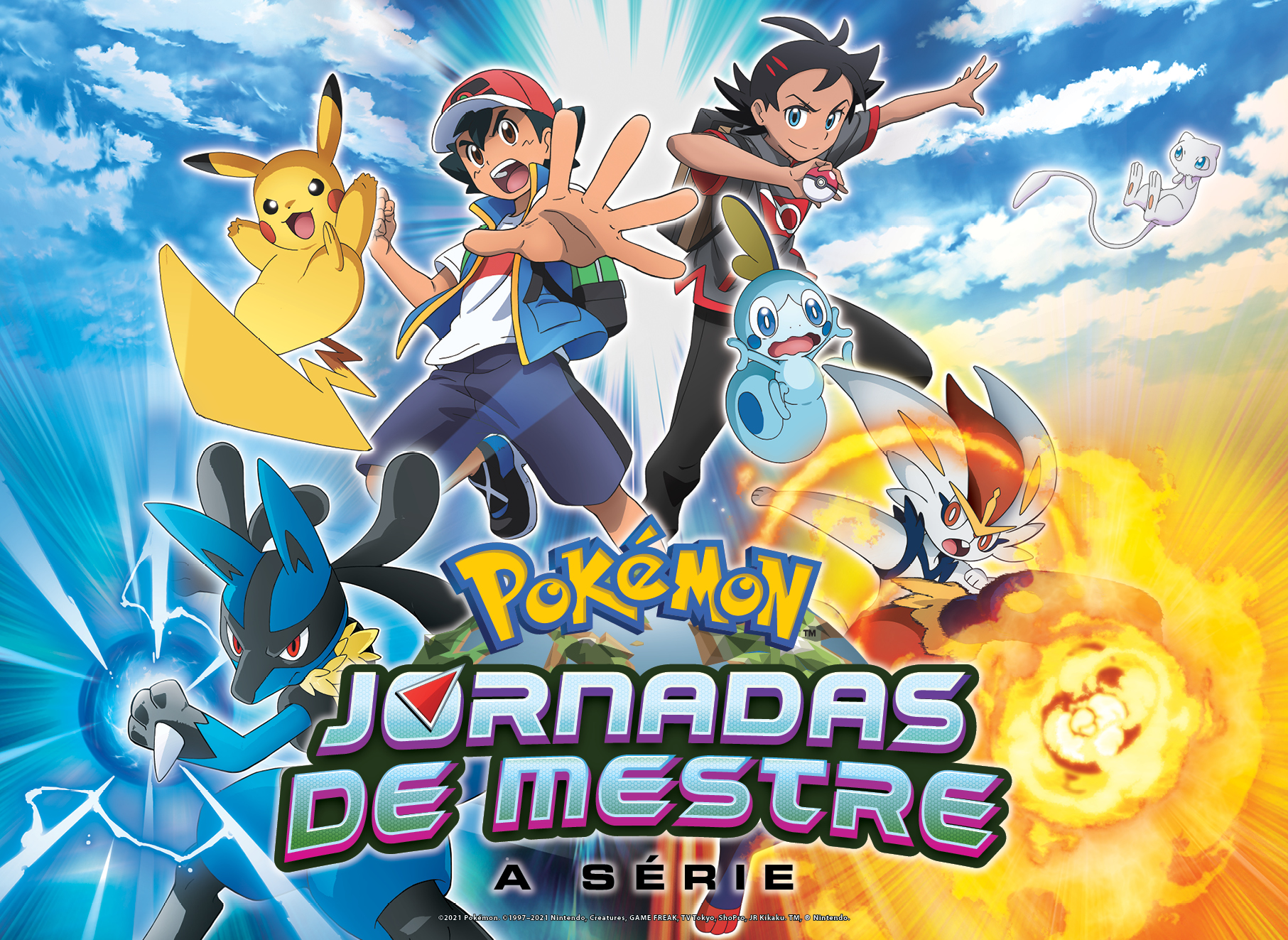 Jornadas de Mestre Pokémon Poster