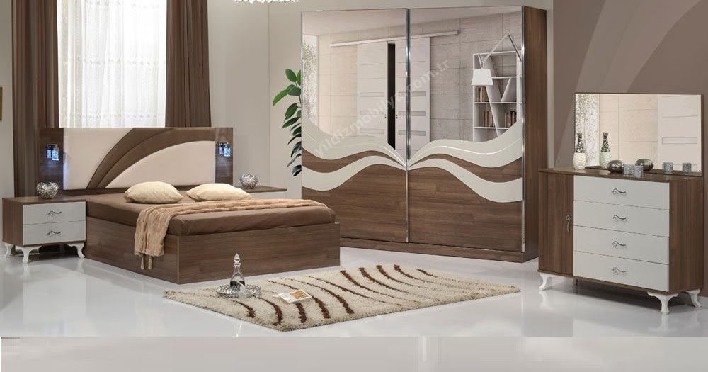 . Modern bedroom furniture catalog  Beds  cupboards and dressing table
