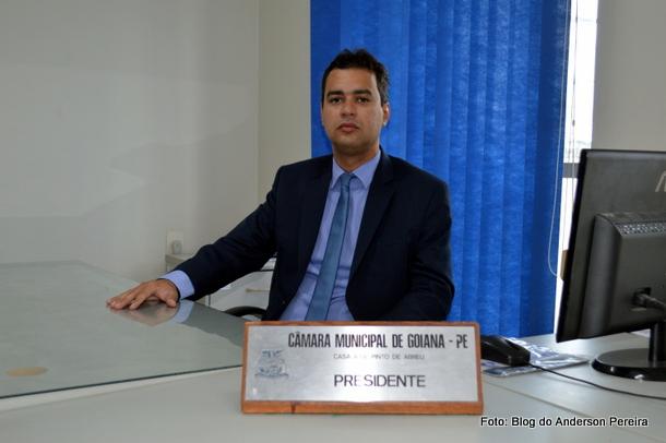 Presidente da Câmara de Vereadores anuncia concurso público em Goiana