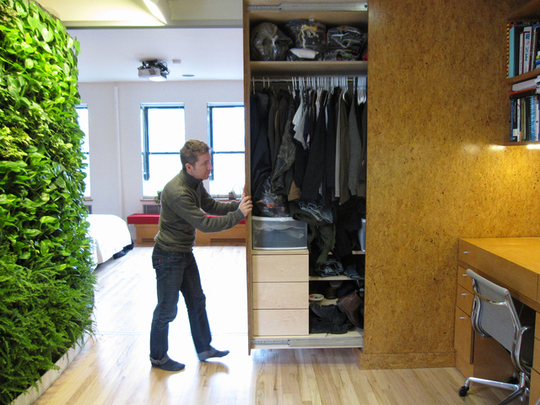 Design to inspire hideaway storage ideas for small spaces - Clothes storage ideas for small spaces ...