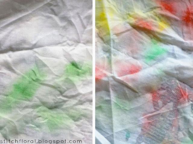 Fabric painting: paint vs watercolor