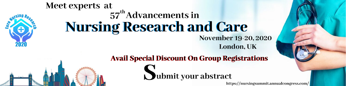 57th Advancements in Nursing Research and Care November 19-20, 2020 London, UK