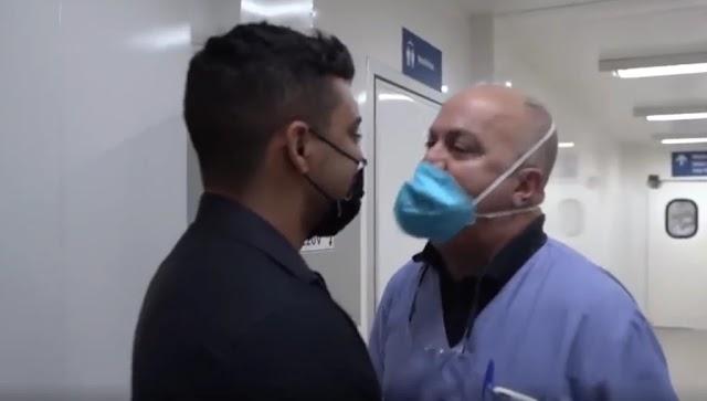 No RJ aconteceu! O vereador Gabriel fiscaliza unidade de saúde e acorda médicos! Confira