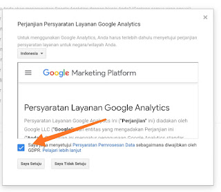 Cara mendaftar google analytics blog