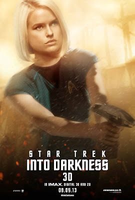 Star Trek Into Darkness Carol Marcus played by Alice Eve Character Poster