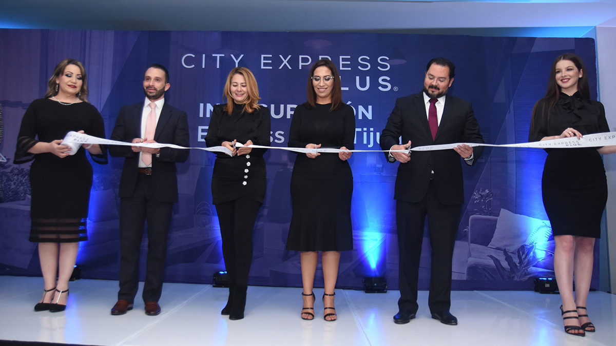 CITY EXPRESS INAUGURA HOTEL PLUS TIJUANA 01