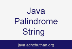 Java program to check whether a string is a Palindrome  using stack and queue